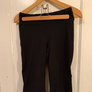 Basic cropped workout pants. Lucy is great outfit
